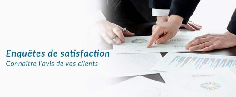 enquetes satisfaction client
